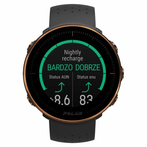 Polar Vantage – zegarki z zaawansowanymi funkcjami oceny jakości snu